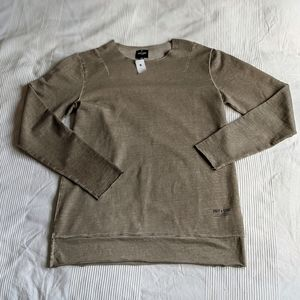 ONLY&SONS Long Sleeve Pullover with Raw Edges NWT